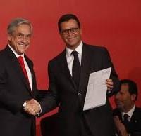 Presidente Piñera y ministro Hinzpeter