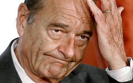 Ex Presidente de Francia Jacques Chirac