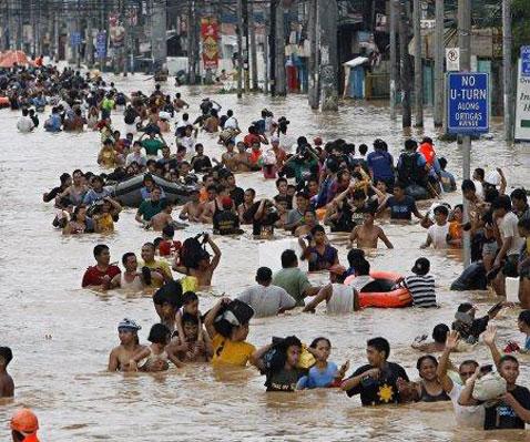 Inundaciones en Filipinas