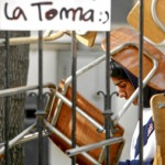 Desalojo de liceos en Santiago dejó 53 detenidos