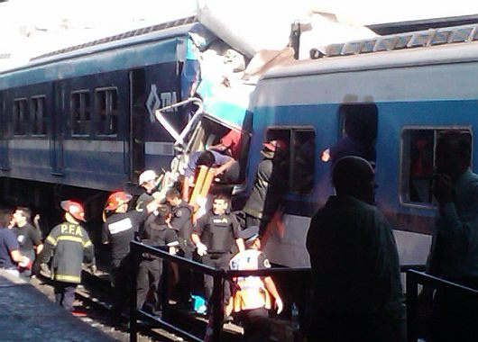 accidente ferroviario en Argentina