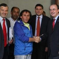 Gobierno y dirigentes de Aysén