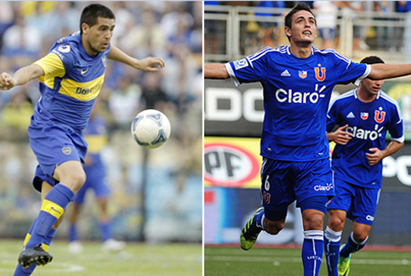 Boca Juniors y Universidad de Chile