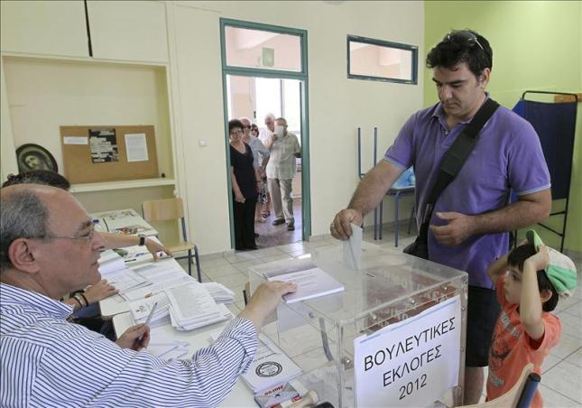 Elecciones en Grecia