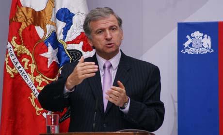 Ministro de Hacienda Felipe Larraín