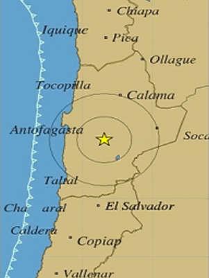 nuevo temblor en el norte