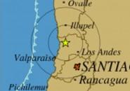 Temblor zona central