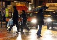 Lluvias en la zona central