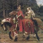 Rey Arturo y Ginebra