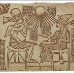 Akhenatón y Nefertiti