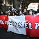El movimiento indignado prende en Perú