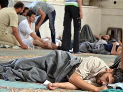 Ataque con gas sarín en Siria