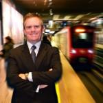 """Ramón Cañas: """"El metro sigue siendo la forma de transporte más eficiente, más predictiva y más segura de la ciudad"""""""