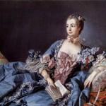 Luis XV y Madame de Pompadour