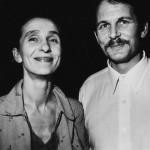 Pina Bausch y Ronald Kay