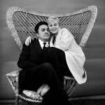 Federico Fellini y Guilietta Masina