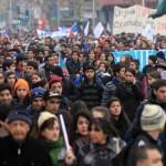 Comienza nueva marcha estudiantil desde Plaza Italia