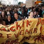 Bloque Internacional: Protesta estudiantil en Francia