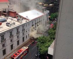 Incendio en el Teatro Municipal