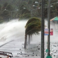 TOPSHOTS-PHILIPINES-WEATHER-TYPHOON