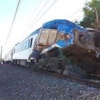 Choque de tren en Requínoa