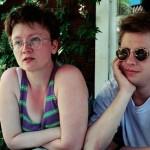Stieg Larsson y Eva