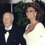 Sophia Loren y Carlo Ponti