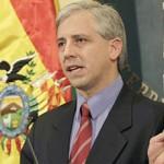"""Gobierno boliviano califica a Chile de país """"abusivo"""" y dice que """"tiene la obligación de dialogar"""""""