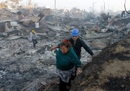 Incendio en Valparaíso