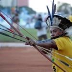 VIDEO: Indígenas protestan en Brasilia contra el Mundial de Fútbol