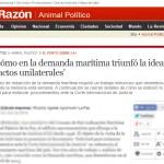 Bloque Internacional: La Razón de Bolivia