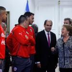 Chile recibe a La Roja