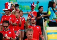 Hinchas chilenos en el Maracaná2