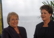 Michelle Bachelet y Dilma Rouseff