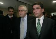 Ministros Máximo Pachecho y Pablo Badenier