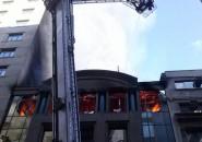 Incendio en sucursal de Scotiabank de calle Agustinas