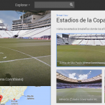 Los 12 estadios del Mundial vistos desde Google Street View