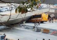 Caída de autopista en Brasil