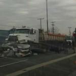 Colisión múltiple en Autopista General Velásquez deja una persona fallecida