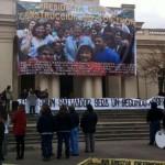 Trabajadores de Hospital El Salvador realizan paro en rechazo a concesión