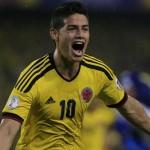 Gol de James Rodríguez ante Uruguay es elegido el mejor del Mundial