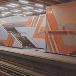 Inauguración del Metro de Santiago