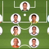 Once ideal de la FIFA para Brasil 2014