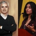 Ricardo Paredes y Claudia Sanhueza