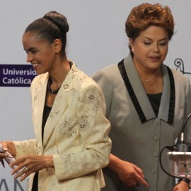 Marina Silva y Dilma Rouseff