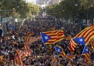 Independentistas en Barcelona