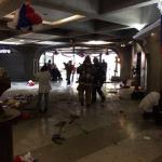 Atentado en centro comercial del metro deja a 14 personas heridas