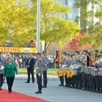 Presidenta Bachelet muestra interés por mecanismos de participación alemanes en reunión con Angela Merkel