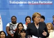 Presidenta Bachelet promulgando ley