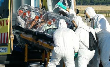 sacerdote español contagiado de ébola